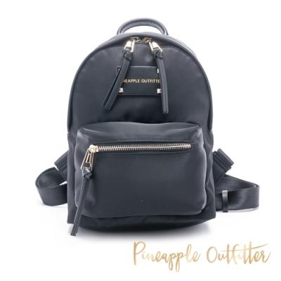 Pineapple Outfitter 輕量尼龍小款簡約百搭後背包-黑色