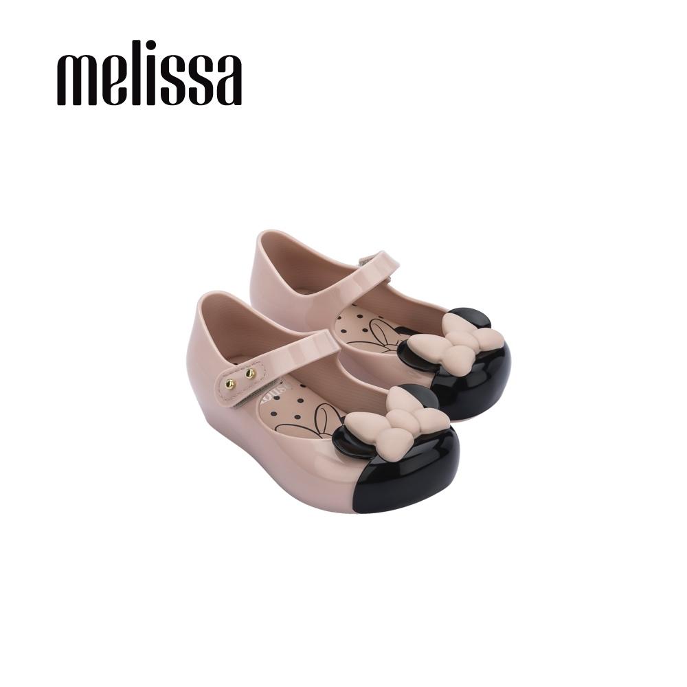 Melissa x MICKEY AND FRIENDS 蝴蝶結娃娃鞋 寶寶款-粉