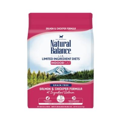 Natural Balance 低敏無穀 鷹嘴豆鮭魚全貓配方2.2kg