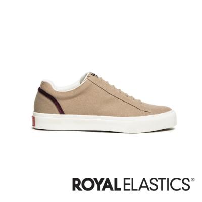 ROYAL ELASTICS Cruiser 米黃日系帆布休閒鞋 (女) 90603-771