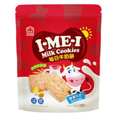 義美 每日牛奶餅-雞蛋牛奶(182g)