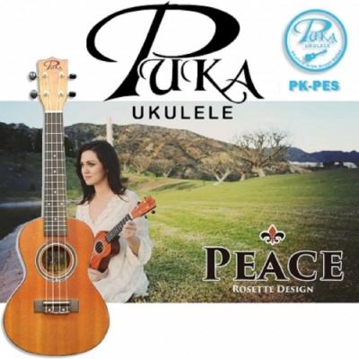 PUKA PK-PEC /烏克麗麗/23吋/Peace 和平系列