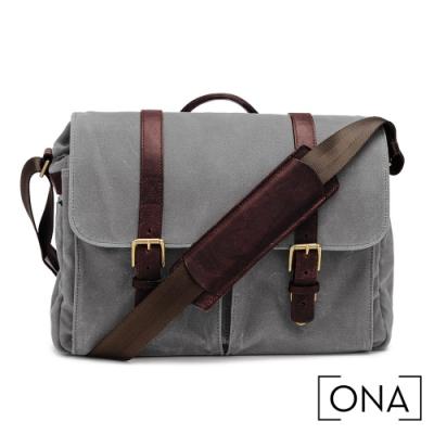 ONA Brixton 專業相機包(1機3鏡,13吋筆電適用) - 煙灰