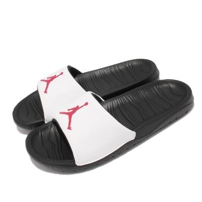 Nike 拖鞋 Jordan Break Slide 男鞋 喬丹 泡綿緩震 套腳 輕便 夏日穿搭 黑 白 AR6374-016