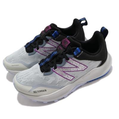 New Balance 慢跑鞋 Nitrel V4 Wide 寬楦 女鞋 紐巴倫 輕量 透氣 舒適 避震 路跑 灰 紫 WTNTRLG4D