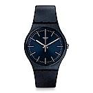 Swatch NAITBAYANG 閃耀夜藍手錶