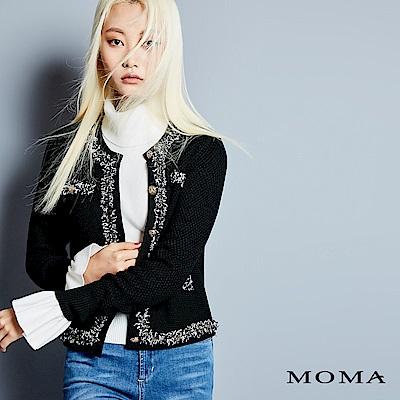 MOMA 小香風針織外套