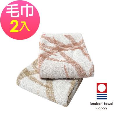 日本今治 純天然有機棉無染色毛巾-絲帶(超值2入組)