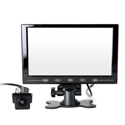 9吋螢幕顯示器+XC-7412 數位式倒車鏡頭 (孔徑21mm)-快