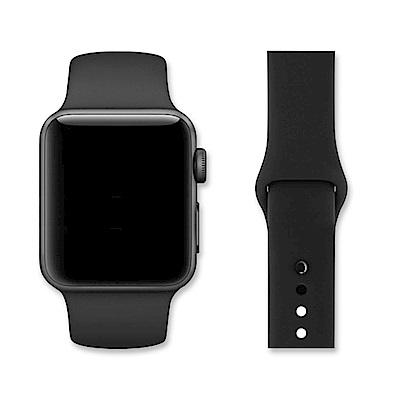 Apple Watch 38mm單色運動型矽膠錶帶
