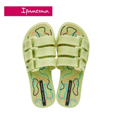Ipanema BOLD PRINT造型印花一字拖-綠