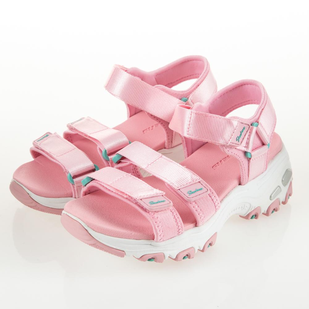 SKECHERS 女童涼拖鞋系列 DLITES SANDAL-664075LLTPK