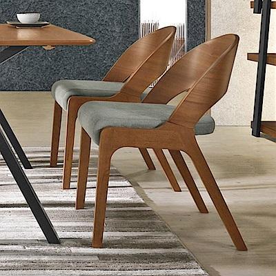 Boden-米迦實木布面餐椅/單椅-51x59x77cm