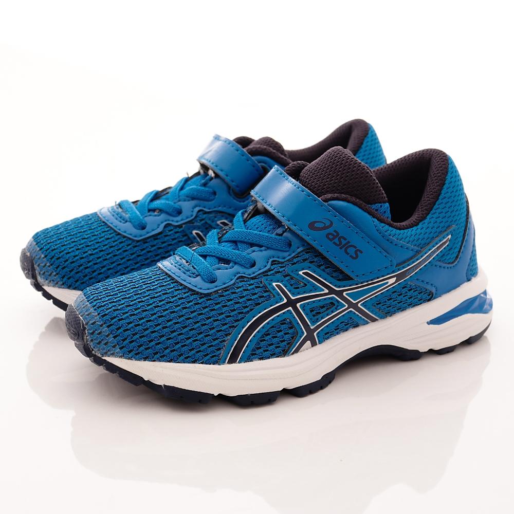 asics競速童鞋 高緩衝機能運動款 SE41N-4358藍(中小童段)