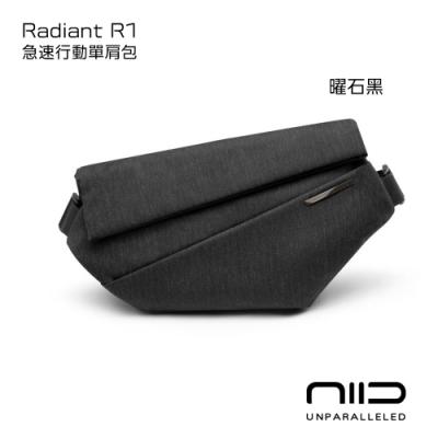 NIID 極速行動單肩包 Radiant R1 曜石黑