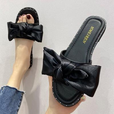 KEITH-WILL時尚鞋館 街頭潮人夜色悠閒拖鞋-黑