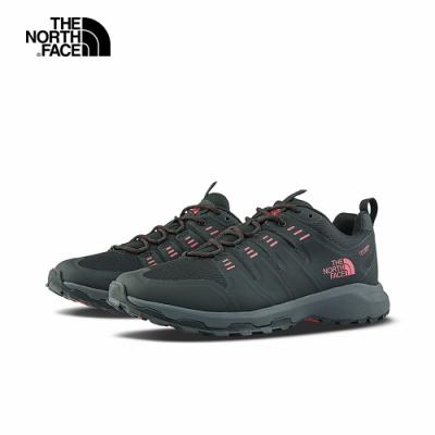 The North Face北面男款黑色防水透氣徒步鞋|4OBGKZ2