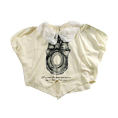 女童七分蝙蝠袖造型上衣 k51142 魔法Baby