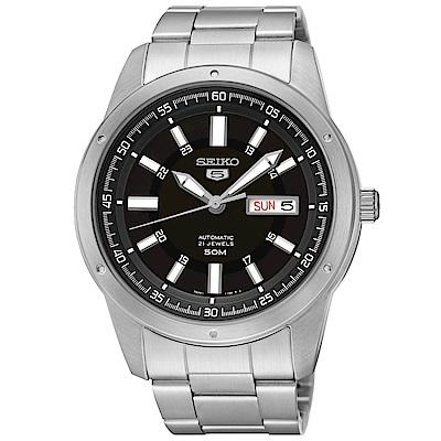 SEIKO 5號SPORTS運動時尚機械腕錶SNKN13J1/7S26-04A0C