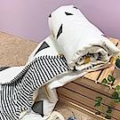 戀家小舖 / 雙人涼被 杉角角 100%精梳棉 活性印染 台灣製