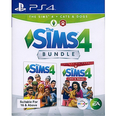 模擬市民 4 + 貓狗總動員 THE SIMS 4 - PS4 中英文亞版