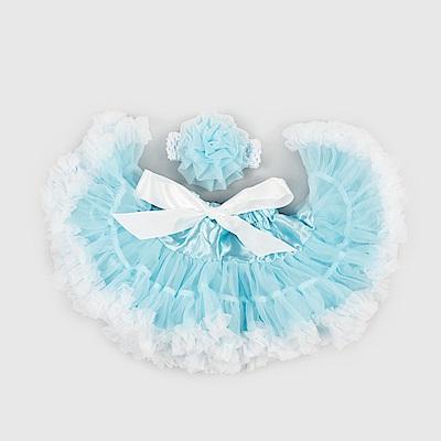 日安朵朵 女嬰童雪紡蓬蓬裙 - 冰雪奇緣