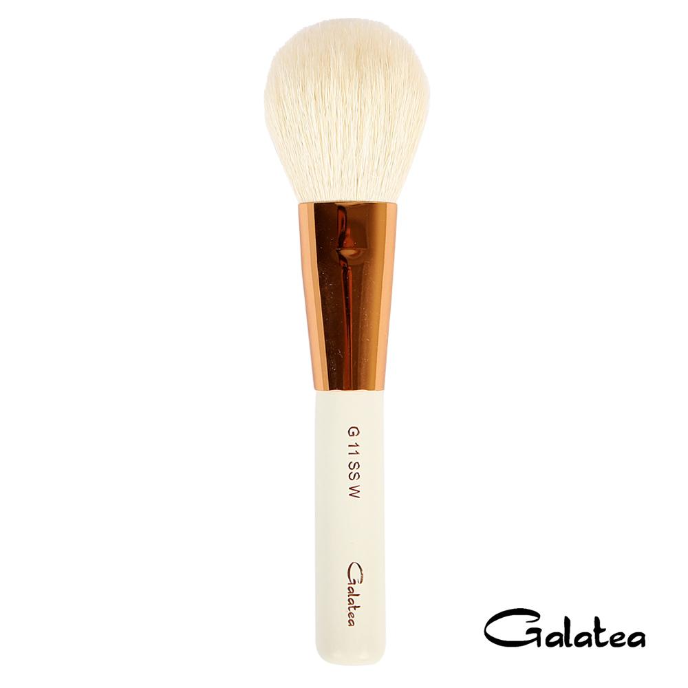 Galatea葛拉蒂 金顏短柄系列 光峰白羊毛腮紅蜜粉刷G11SSW