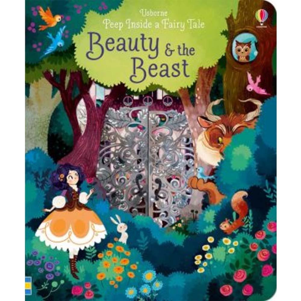 Beauty And The Beast 美女與野獸瞧瞧看翻翻操作書
