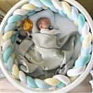 Kori Deer 可莉鹿 北歐風編織長條多用途安撫抱枕嬰兒防撞圍欄-加高版