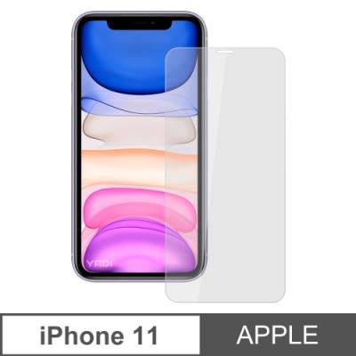 【YADI】蘋果 Apple iPhone 11/6.<b>1</b>吋>鋼化玻璃膜>二次強化>疏水疏油