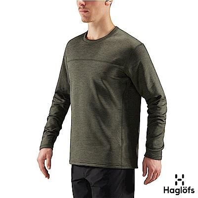 Haglofs 男 Torborg 刷毛長袖圓領衫 樹木色