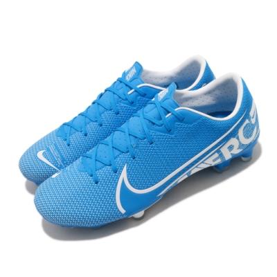 Nike 足球鞋 Vapor 13 Academy 男鞋 舒適 包覆 支撐 穩定 訓練 運動 藍 白 AT5269414