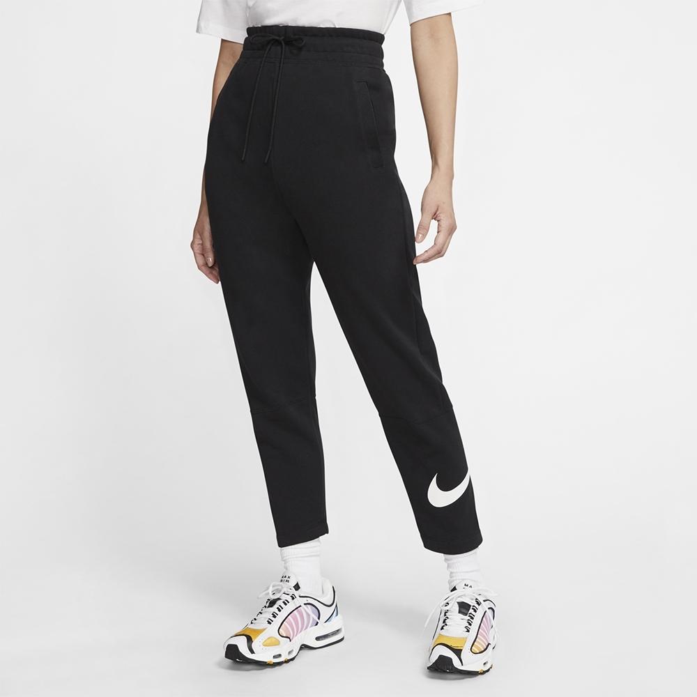 NIKE 長褲 女款 健身 訓練 慢跑 運動 棉質 休閒 黑 CJ3770010 AS W NSW SWSH PANT FT