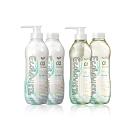 日本Ecolovista植寇希氨基酸植物精油洗潤500ml-亮澤滋潤組合洗髮*2+潤髮*2