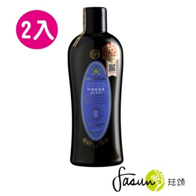 FASUN琺頌控油洗髮乳-羅勒檸檬草400mlx2入