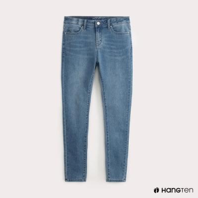 Hang Ten-女裝-3D SKINNY FIT牛仔褲