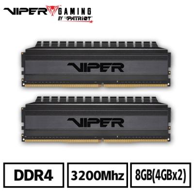 VIPER蟒龍 VB4 DDR4 3200 8GB(2x4G)桌上型記憶體