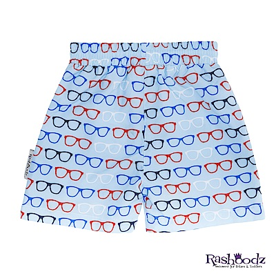 澳洲 RASHOODZ 兒童抗UV防曬泳褲 (戴眼鏡的紳士)