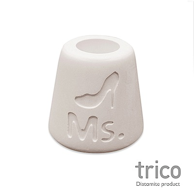 TRICO 幸福點點名珪藻土牙刷架-Ms