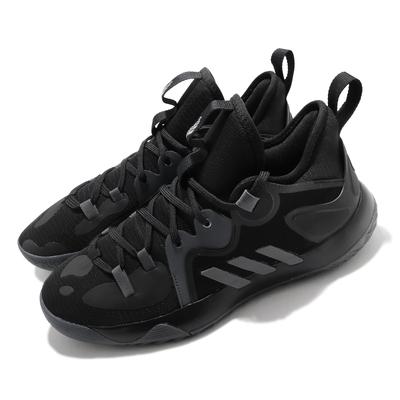 adidas 籃球鞋 Harden Stepback 2 男鞋 愛迪達 三線 哈登 避震 James 黑 灰 FZ1075