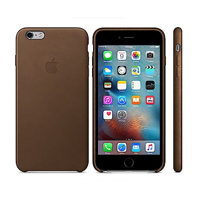 Apple 原廠 iPhone6 Plus/6S Plus case 皮革保護套...