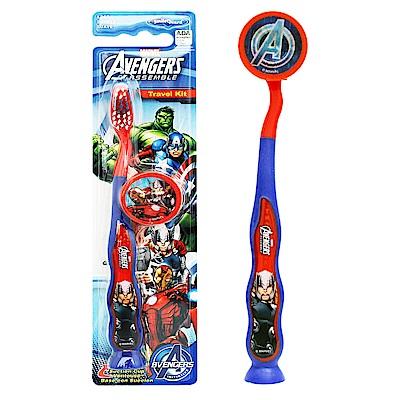 AVENGERS 兒童吸盤牙刷(Thor-附刷蓋)