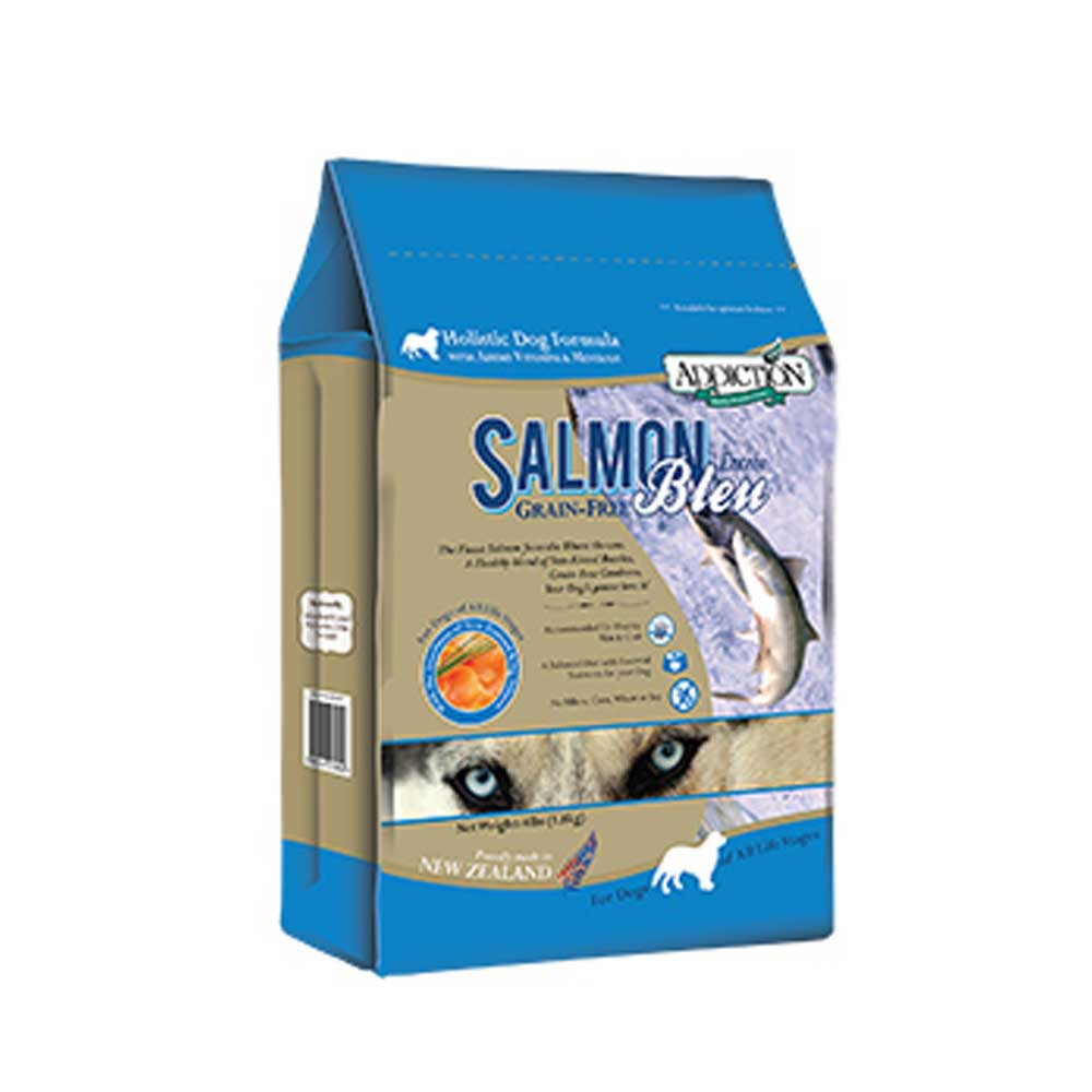 Addiction自然癮食 無穀藍鮭魚犬食454g