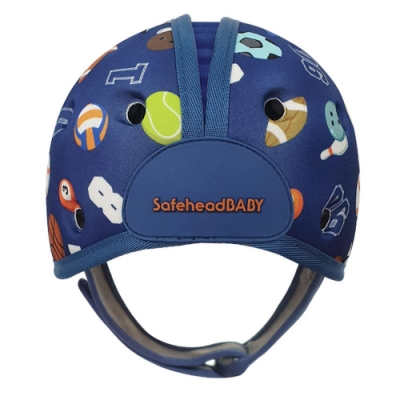 英國SafeheadBABY 學步防撞安全帽-運動明星