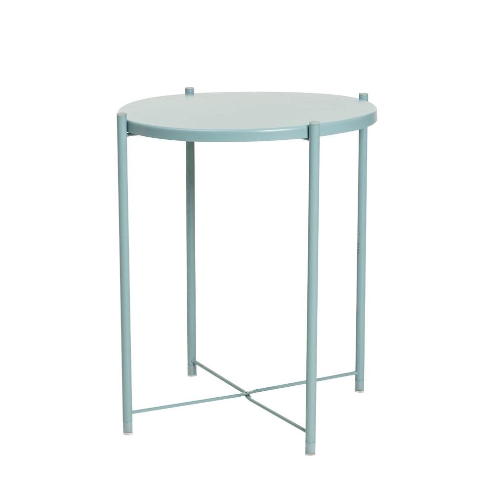 樂嫚妮 北歐質感多用途托盤茶几桌/咖啡邊桌-藍