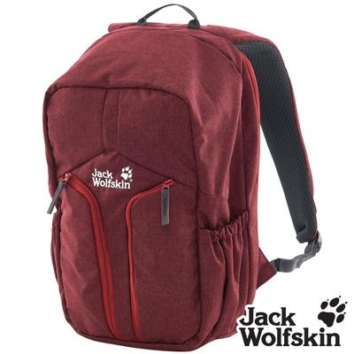 【Jack wolfskin 飛狼】Urban 18L 經典城市休旅背包 (筆電防護 / 減壓式背帶)『紅色』
