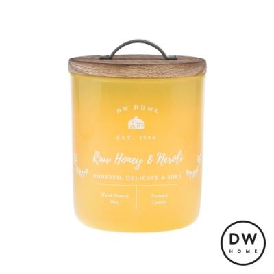 DW HOME 美國香氛 農園系列 蜂蜜橙花 原木蓋玻璃罐 240g