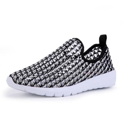 韓國KW美鞋館-飛織輕量網休閒鞋 灰
