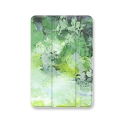 漁夫原創-iPad 保護殼 mini 1/mini2/mini3 - 草木綠葉