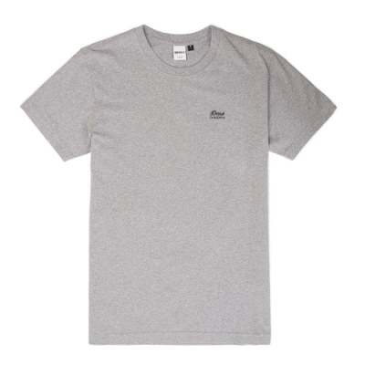 Deus Standard Ss Embroidered Tee T恤-灰